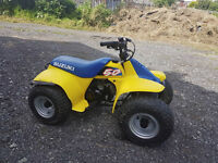 Suzuki lt 50 //MINTER// weight on front and safety cord 4 sale or swap pw50 Blackpool