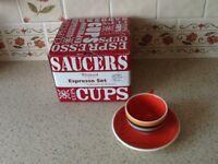 Whittards espresso cups