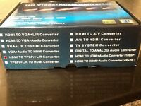 HDMI Converter Leads Brand New in Box