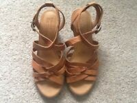 Timberland sandals hardly worn.