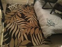 Next brown rug