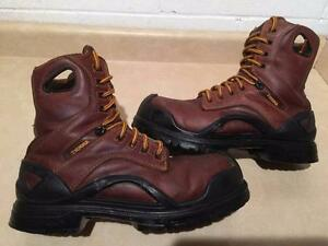 Men's Size 9.5 Terra Steel Toe Work Boots