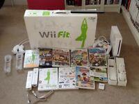 Nintendo wii console wii fit bundle