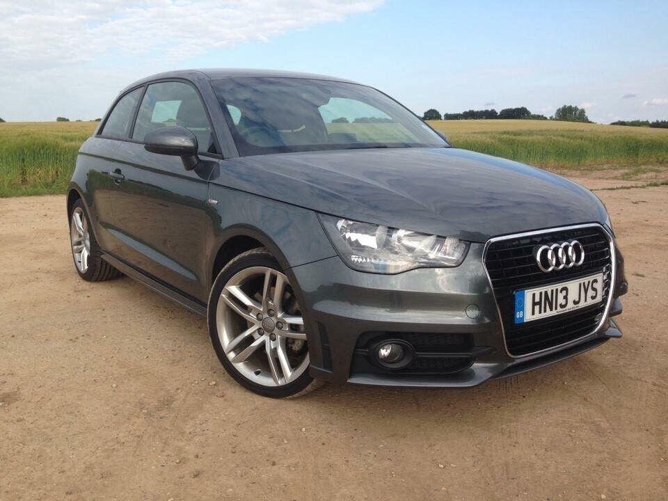 Audi A1 Grey 1.4 TFSI S-Line 3dr