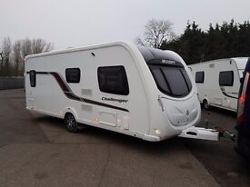 Swift Challenger 570 SR 4 Berth caravan 2012, FIXED BED, MOTOR MOVER Bargain !!!