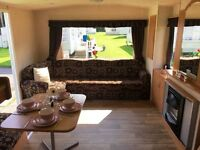 CHEAP STATIC CARAVAN FOR SALE IN NORTHUMBERLAND NEAR NEWCASLTE CRESSWELL TOWERS HOLIDAY PARK