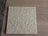 Kitchen or bathroom ceramic tiles