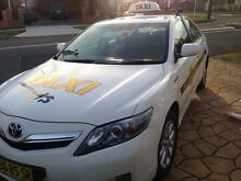 Unrestricted Taxi plate + taxi Camry hybrid for sale turnkey business Kingsgrove Canterbury Area Preview