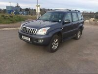TOYOTA LANDCRUISER LC5 D-4D AUTO ESTATE 2982cc, 5dr **FULL SERVICE HISTORY**FULL LEATHER INTERIOR**