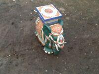 Genuine terracotta Indian elephant