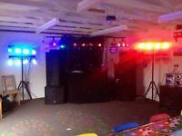 Full moden disco Set up for sale