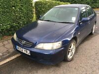 2002 HONDA ACCORD VTEC SPORT 1.8 YEARS MOT