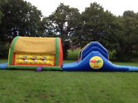 Bouncy castles for sale 12x12ft under the sea, 44ft obstacle course and bungee run
