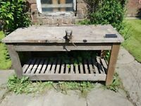 Wooden workbench for sale