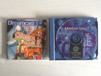 Dreamcast Cannon Spike. PAL, Boxed w instructions.