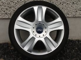 18INCH 5/108 GENUINE FORD ALLOY WHEELS WITH TYRES FIT MOST MODELS