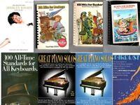 30 Music Books / Scores PLUS 2 x CDRoms with 1000's of music pdf's on them