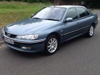 Peugeot 406 S HDi (metallic blue) 2003