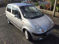 2005 DAEWOO MATIZ 1 LITRE CHEAP TO TAX AND INSURE