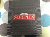 SCRUPLES. BOARD GAME. ORIGINAL. 1980'S