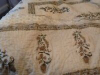 Vintage king size bed cover