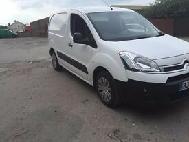 2012 62 citreon berlingo hdi 3 seater with side loading door