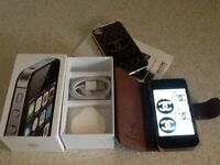 APPLE IPHONE 4S 8GB BLACK,BOXED SUPERB...