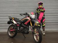 enduro 4 stroke 125cc 2013. LOTS of extras including after market exhaust DE-restricted.