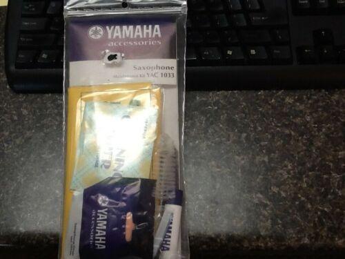 Yamaha Saxophone Maintenance Kit YAC 1033 Brand New In Bag Cleaning Kit