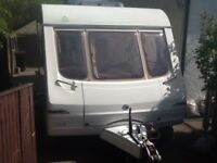Swift Colonsay caravan, four berth. 2003 model. £3850 Ono.