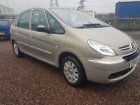 2007 citroen picasso 1.6 hdi ideal family car excellent on diesel new mot perfect family car