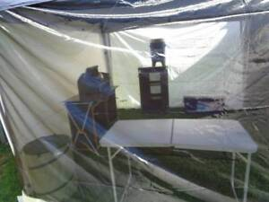Tent hire and set up