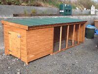 Dog pens ( Dog boxes ) 8ft long only £190