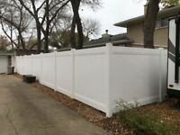 $29 Ft, Last Chance Fall Vinyl Fence Sale