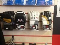 MMA gloves for sale different designs all leather