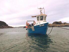 Islander19 fishing boat ready for sea