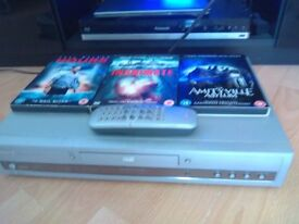 philips dvd player with 17 films