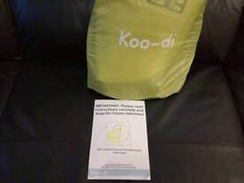 Koo-di pop up Travel Bassinette Brand New never got used lime/lemon