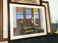 EDWARD HOPPER ROOM IN BROOKLYN FRAMED PRINT PICTURE