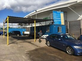 Hand Car Wash Valet Business For Sale - Excellent Location Next To Trafford Centre & ASDA Superstore