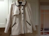 USEDS RIVER ISLAND LADIES COAT in lovely condition