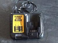 Dewalt battery charger 10.8-18v