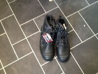 Brand new men's Goliath steel toe cap boots size 8.