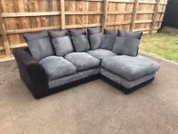 💯🔥💥SALE OFFER💯👉ON BRAND NEW BYRON JUMBO CORD SOFA AVAILABLE IN 2+3 SEATER AND CORNER SOFA👈☺️