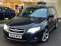 SUBARU LEGACY SE AUTO 2457cc, ESTATE 5 Drs*SERVICE HISTORY**FULL LEATHERS**PERFECT ENGINE & GEARBOX*