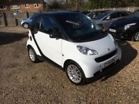 2009 [59] smart fortwo 0.8 diesel automatic 84,000 miles £0 road tax