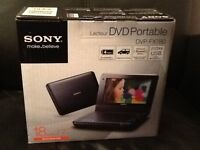 "SONY Portable DVD Player DVP-FX780 with 18cm/7"" Widescreen LCD"