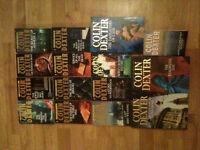 "15 Colin Dexter ""Inspector Morse"" Books Novels - Crime Fiction"