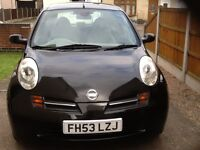Nissan Micra automatic.