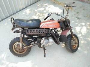 Kawasaki KV75 RARE mini bike, more power than z50 / qa50 Perth Perth City Area Preview